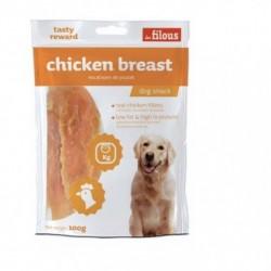 LES FILOUS CHICKEN BREAST - PETTO di POLLO per CANI 100 gr