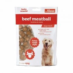LES FILOUS BEEF MEATBALL - POLPETTE di MANZO per Cani 100 gr