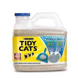 PURINA TIDY CATS CRYSTALS BLEND - LETTIERA AGGLOMERANTE PER GATTI 4.5 Kg