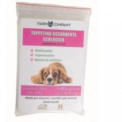 FARM COMPANY Tappetino Assorbente Ecologico per Cani 60x60cm