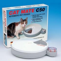 CAT MATE C50 automatic pet feeder  - MANGIATOIA AUTOMATICA A BATTERIE 90 ore PER GATTI
