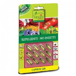 VERDE VIVO Repellente NO INSETTI in 12 capsule gel