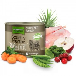 NATURES MENU COUNTRY HUNTER Full Flavoured Rabbit - CIBO UMIDO PER CANE gusto CONIGLIO da 600 gr