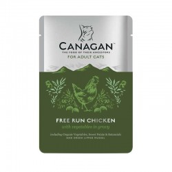 CANAGAN Free Run Chicken Adult Cats - Cibo Umido per Gatti Adulti con Pollo da 85 gr