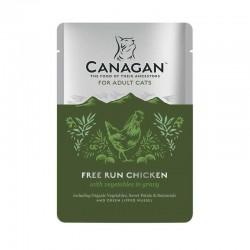CANAGAN Free Run Chicken Adult Cats - Cibo Umido per Gatti Adulti con Pollo da 85 gr