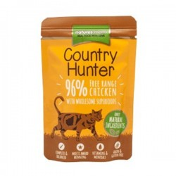 NATURES MENU COUNTRY HUNTER FREE RANGE CHICKEN - Cibo umido per GATTI con POLLO RUSPANTE da 85 gr