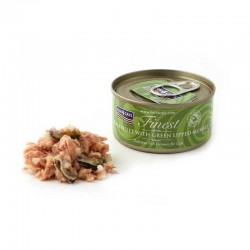 FISH4CATS FINEST CIBO UMIDO PER GATTI GRAIN-FREE DA 70 GR - TUNA FILLET WITH GREEN LIPPED MUSSELS