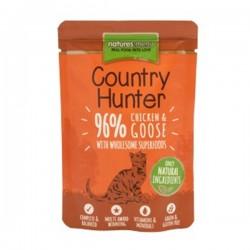 NATURES MENU COUNTRY HUNTER CHICKEN & GOOSE - Cibo umido per GATTI con POLLO e OCA da 85 gr