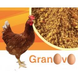 PROGEO GRANOVO - GRANAGLIA NATURALE NO-OGM PER OVAIOLE DA 20 KG