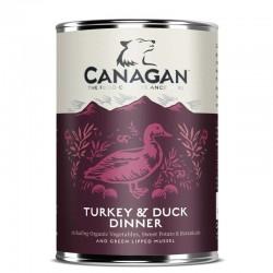 CANAGAN Turkey & Duck Dinner CIBO UMIDO PER CANE con Tacchino e Anatra da 400 gr