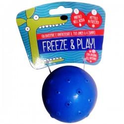 FARM COMPANY Gioco palla in gomma refrigerante Freeze & Play per CANE Ø 6 cm
