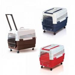 IMAC KIM 60 Trasportino per Cani e Gatti 32x37x57 cm
