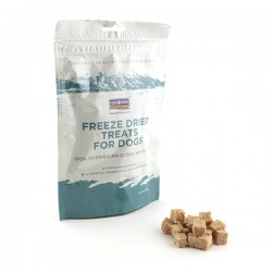 FISH4DOGS Freeze Dried Treats For Dogs - Snack per CANE con PESCE da 25 gr