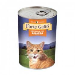 FORTE GATTO BOCCONCINI CON ANATRA PER GATTO da 405 gr