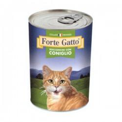 FORTE GATTO BOCCONCINI CON CONIGLIO PER GATTO da 405 gr