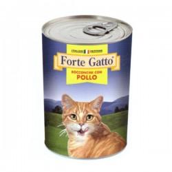 FORTE GATTO BOCCONCINI CON POLLO  PER GATTO da 405 gr
