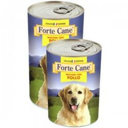 Forte Cane Bocconi Con Pollo Cibo Umido Per Cane da 1250 gr
