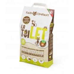 LA TOILET lettiera ecologica per gatti 100% vegetale Biodegradabile da 10 LT