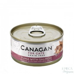 CANAGAN FOR CATS Cibo umido per GATTI grain-free da 75 gr - TUNA WITH SALMON