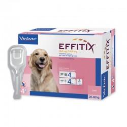 EFFITIX Antiparassitario esterno per Cani 20/40 kg SPOT-ON da 4 pz