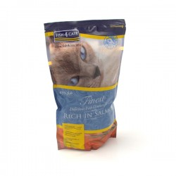 FISH4CATS FINEST RICH IN SALMON - CROCCHETTE al SALMONE per Gatto da 400 gr