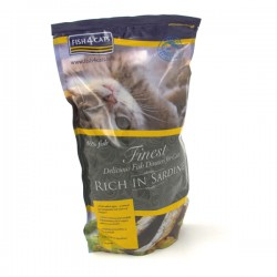 FISH4CATS FINEST RICH IN SARDINE - CROCCHETTE alle SARDINE per Gatto da 400 gr