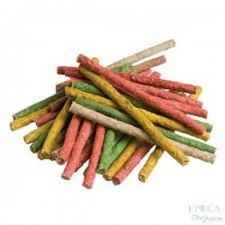 YOSS Stick colorati in Pelle Bovina da 100 Pezzi Premio per Cane