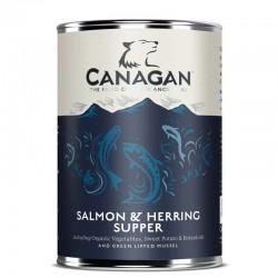 CANAGAN Salmon & Herring Supper CIBO UMIDO PER CANE con Salmone e Aringhe da 400 gr