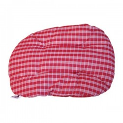 FABOTEX Cuscino per Cane Ovale Sfoderabile RED GAELIC 100x70cm