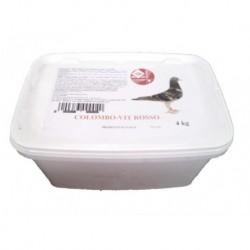 ITALMIX Sale minerale Colombo - Vit Rosso da 4 kg