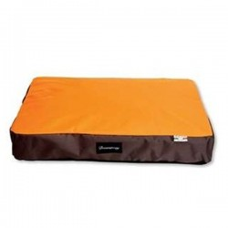 FABOTEX Cuscino Java Sfoderabile Orange/Brown 120x80x14h cm per CANE