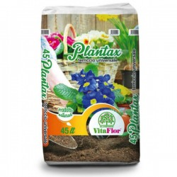 VITAFLOR Plantax Terriccio Universale da 45 litri per Orto Piante e Fiori