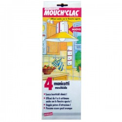 MOUCH'CLAC Manicotto Moschicida vischioso 4pz