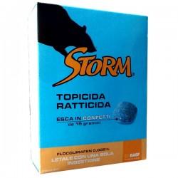 ZAPI STORM Esca topicida ratticida in confetti da 15gr Letale con una ingestione conf. da 500gr