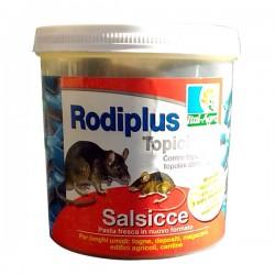 RODIPLUS Topicida in Salsicce per luoghi umidi e fogne da 400gr