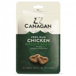 CANAGAN Free-Run Chicken Biscuit Bakes - Biscotti per Cane con pollo ceci e patata dolce SENZA CEREALI da 150gr