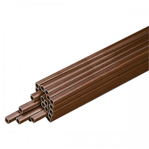 Tubo quadro rigido da 2000x22 mm per linee di abbeveraggio Conigli o Gallinacei