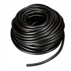 Tubo nero in gomma Ø 20 mm per impianto acqua abbeveraggio, prezzo al metro
