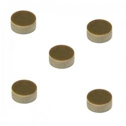 Gommini per abbeveratoio automatico diametro 12x7h mm - conf. da 5 pz