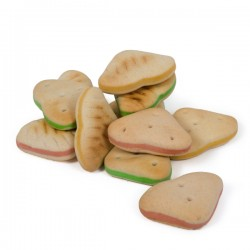 FARM COMPANY Biscotti Burger Cuore per Cane Sfusi in conf. da 800gr
