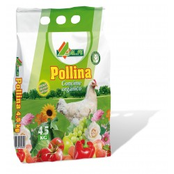 AL.FE POLLINA Kg. 4,5 Concime organico NP Pollina essiccata
