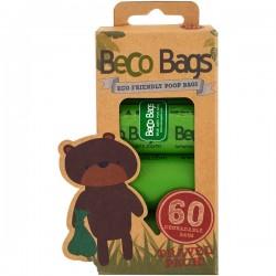 BECOTHINGS BECO Sacchetti Igienici Biodegradabili Per Cani 60 pz