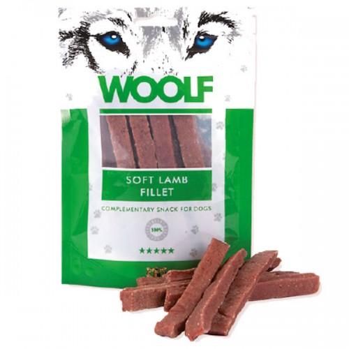 WOOLF FILETTO MORBIDO DI AGNELLO Snack per Cani Monoproteico da 100gr