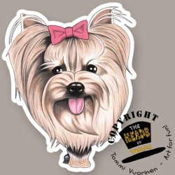 Magnete Dog caricature Yorkshire Terrier by Tommi Vuorinen