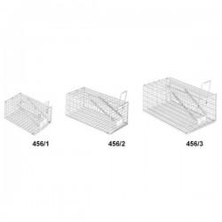 Trappola a gabbia per Topi in rete metallica Pigliatopi 10x16x8h cm