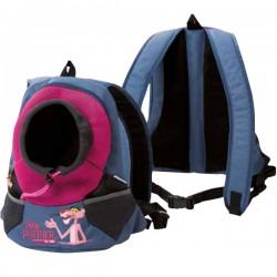 Zaino Marsupio Pink Panther per trasporto Cane 30x15x36h cm