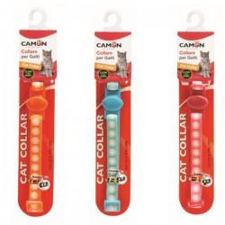CAMON Collare per Gatto Regolabile 10x2/300 mm