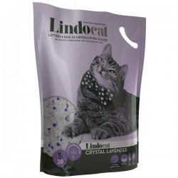 LINDOCAT CRISTAL Lavender Lettiera Igienica per Gatto da 5 litri a base di cristalli di gel in silice