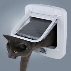 LARIUS CAT FLAP Porta per Gatto Basculante con 4 Funzioni