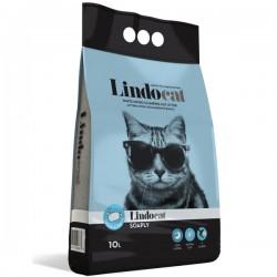 LINDOCAT SOAPLY Lettiera Micro Agglomerante Bianca per Gatto da 10 litri bentonite